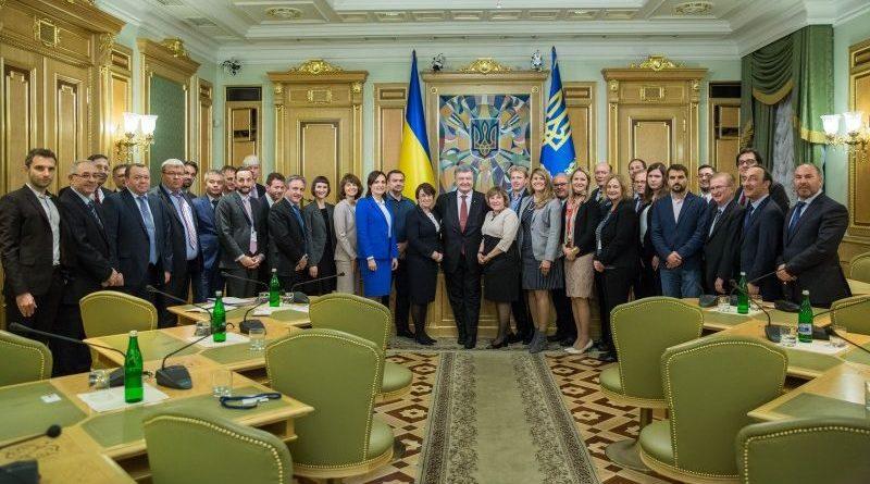 Президент зустрівся з інвесторами Horizon Capital та Western NIS Enterprise Fund (фото)