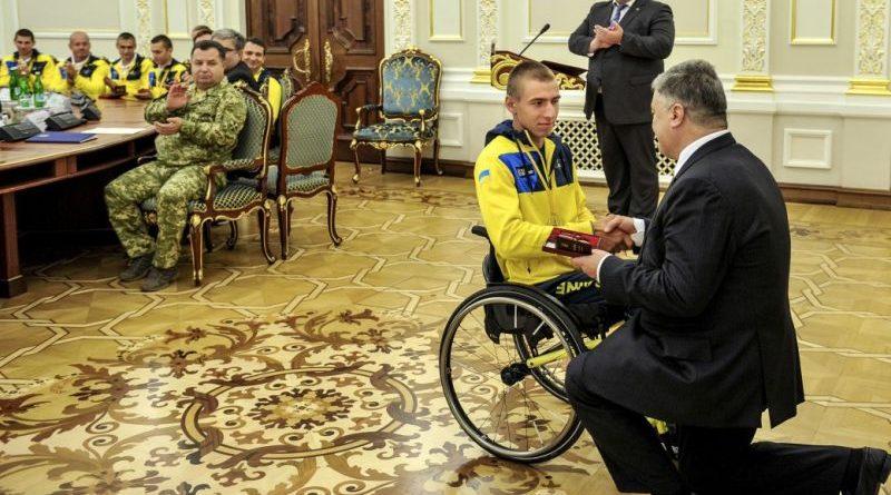Президент нагородив членів української збірної – призерів «Ігор Нескорених» (фото, відео)
