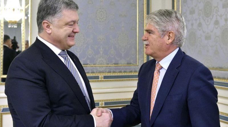 Президент зустрівся з Міністром закордонних справ Іспанії (фото)
