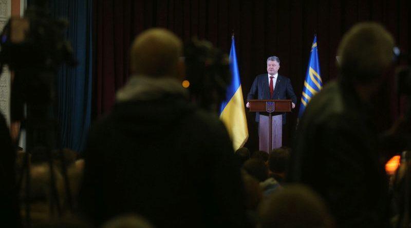 В Україні має бути створена окрема судова антикорупційна вертикаль - Президент (фото,відео)