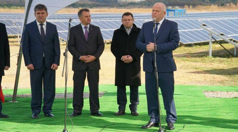На Яворівщині дали старт роботі нової сонячної електростанції (фото)