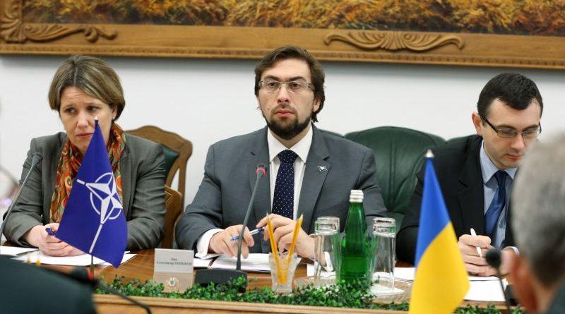 Відбулася робоча зустріч Міністра оборони України з Директором Офісу зв'язку НАТО в Україні
