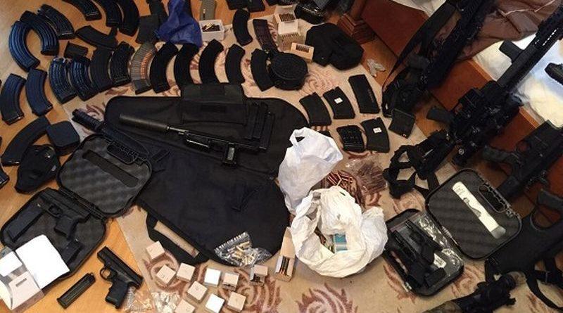 За місяць задокументовано понад 2000 злочинів, пов'язаних з незаконним обігом зброї (фото, відео, інфографіка)