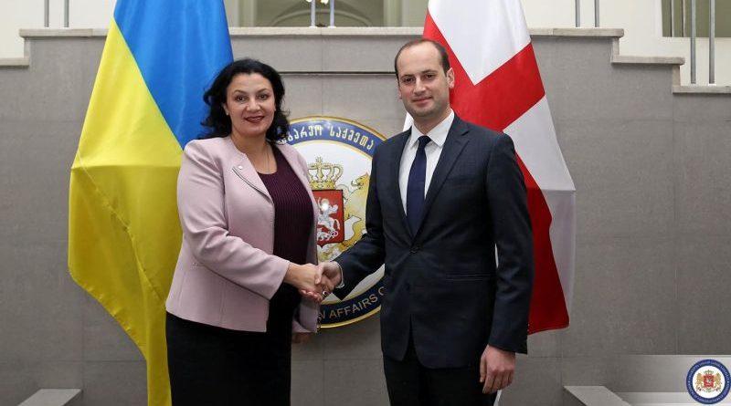 Віце-прем'єри Грузії та України обговорили спільні задачі з європейської і євроатлантичної інтеграції