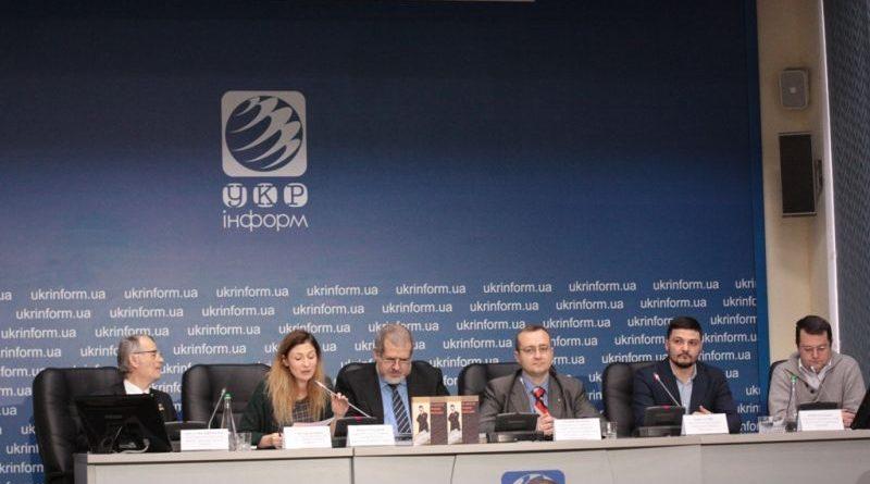 Презентовано книгу про лідера кримськотатарського національного руху Номана Челебіджіхана (фото, відео)
