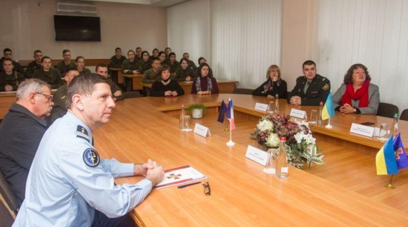 Академію НГУ відвідав аташе з правоохоронних питань Посольства Франції в Україні (фото, відео)