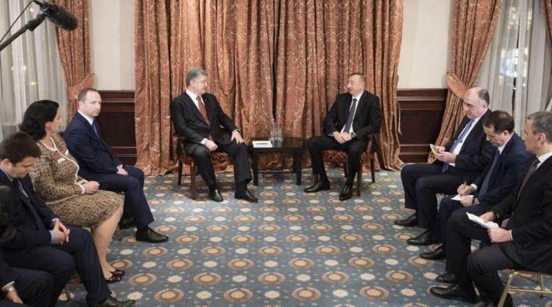Президент України провів зустріч з Президентом Азербайджанської Республіки (фото)