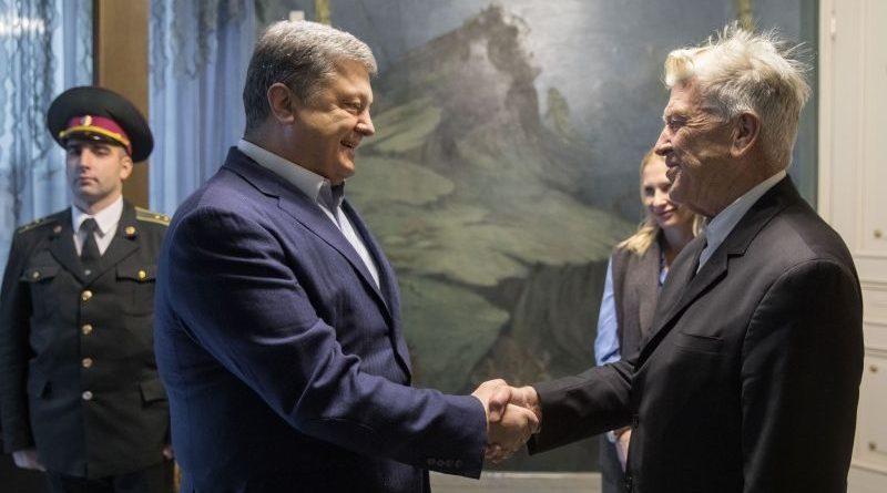 Президент зустрівся з американським кінорежисером Девідом Лінчем (фото, відео)