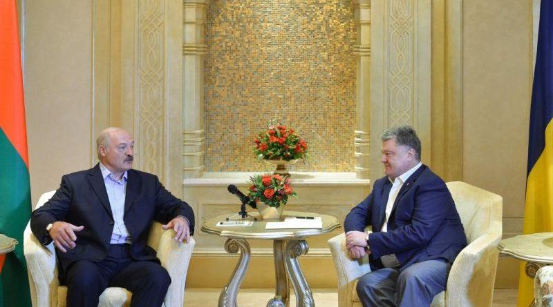 Президент України провів зустріч з Президентом Біларусі в ОАЕ