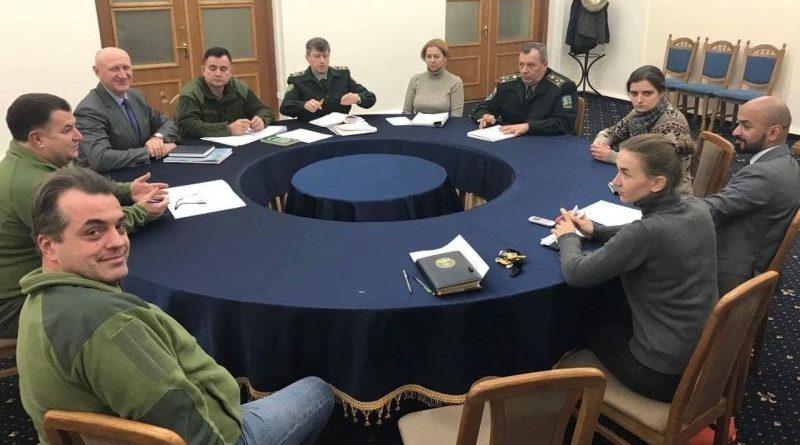 Степан Полторак провів зустріч з Марією Берлінською, Андріаною Сусак та Масі Найємом