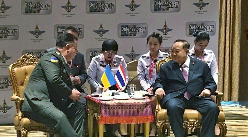 Міністр оборони України Степан Полторак перебуває з офіційним візитом у Королівстві Таїланд (фото)