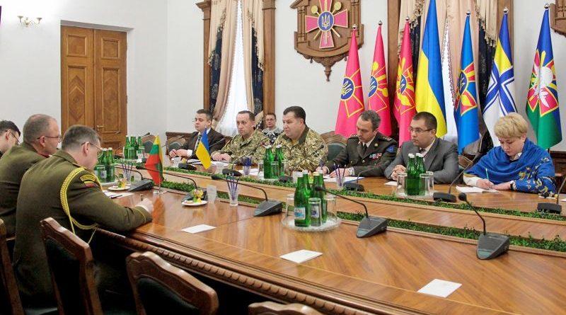 Відбулася зустріч Міністра оборони України з Начальником Об'єднаного штабу ЗС Литовської Республіки (фото)