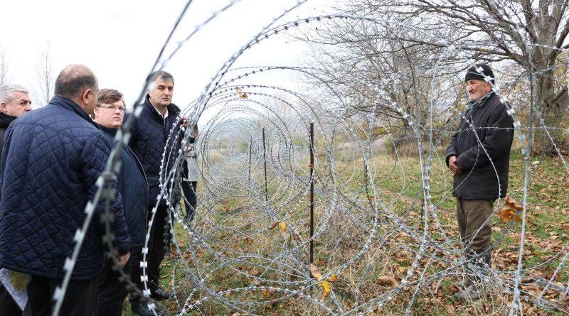 Павло Розенко здійснив поїздку до лінії розмежування з окупованою частиною Грузії