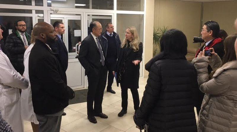 Президент Світового банку та в.о. Міністра охорони здоров'я відвідали медзаклади Києва