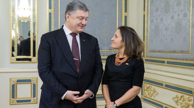 Президент України провів зустріч з Міністром закордонних справ Канади (фото)