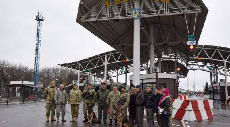 Представники Нацгвардії Каліфорнії США ознайомились з інтегрованої системою охорони державного кордону (фото)