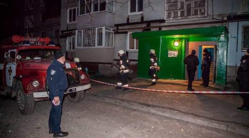 У Дніпрі за фактом вибуху, внаслідок якого постраждав поліцейський, відкрито кримінальне провадження (відео)