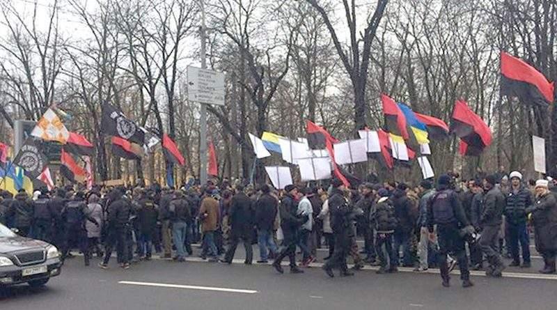 Поліція забезпечує порядок у центрі Києва (фото)