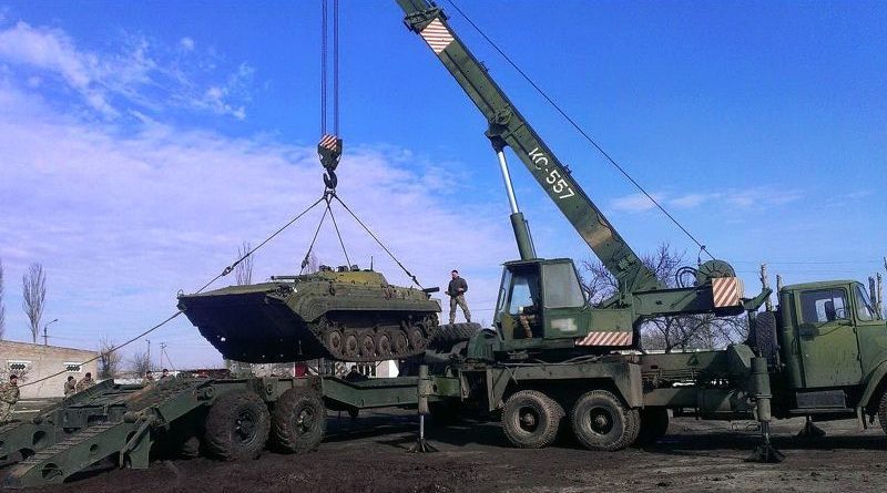 На Миколаївщині військові ремонтники повернули у стрій близько 600 одиниць пошкодженої військової техніки (фото)