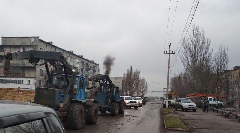 Повністю відновлено електропостачання в прифронтових населених пунктах Травневому та Гладосовому (фото)