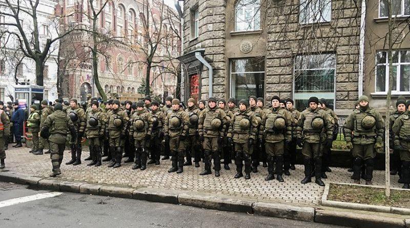 Гвардійці Північного ОТО разом з працівниками Нацполіції забезпечили громадський порядок у столиці (фото)