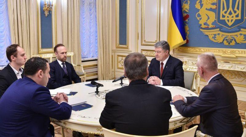 Експерти презентували Президенту законопроект про Антикорупційний суд, який буде направлено до Верховної Ради