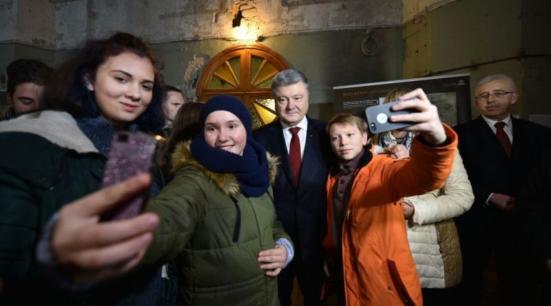 Петро Порошенко зустрівся з українською громадою Литви (фото)