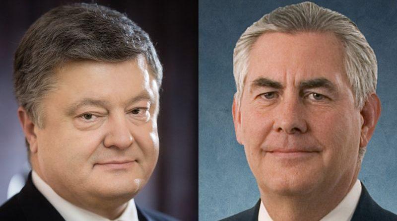 Президент України провів телефонну розмову з Держсекретарем США