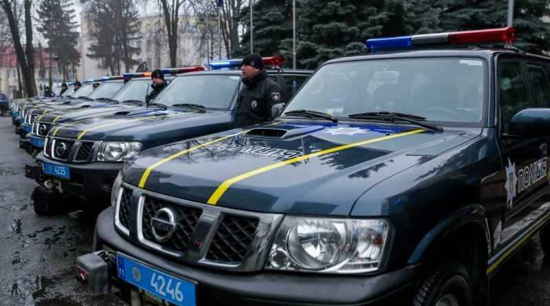 Місія Євросоюзу передала Нацполіції 30 позашляховиків для роботи у важкодоступних регіонах України (фото, відео)