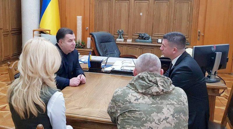 Степан Полторак зустрівся з Почесним консулом України в Республіці Хорватія Івиця Піричем