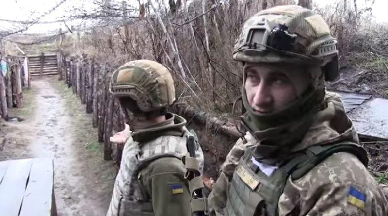Позиції біля Старого Айдару: про дії ворога і тилове забезпечення українських десантників (відео)