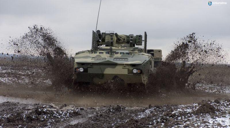 БТР-4МВ1 за стандартами НАТО закінчив проходження заводських випробувань (фото, відео)