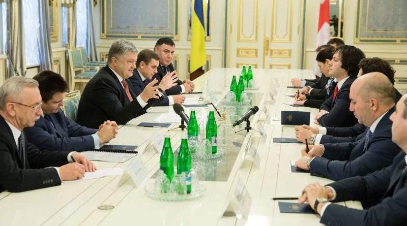 Президент України зустрівся з Головою Парламенту Грузії (фото)