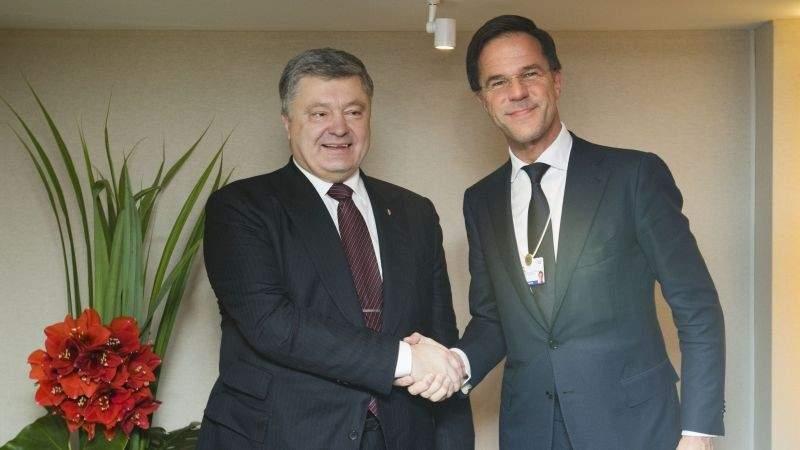 Президент у Давосі зустрівся з Прем'єр-міністром Королівства Нідерланди (фото)