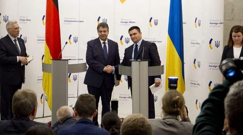 «Ситуація в Україні не є двостороннім конфліктом з РФ, а є викликом цілісності в центрі Європи» - Зіґмар Ґабріель