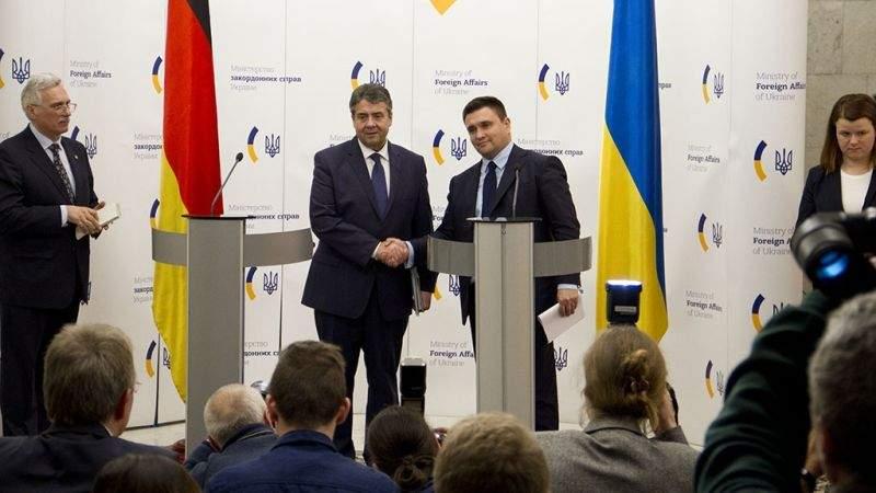 «Ситуація в Україні не є двостороннім конфліктом з РФ, а є викликом цілісності в центрі Європи» – Зіґмар Ґабріель