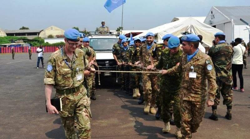 Українські миротворці взяли участь у церемонії складання повноважень Командувача Місії ООН в ДР Конго (фото)
