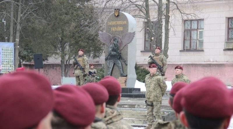 У Краматорську відкрито пам'ятник загиблим захисникам України (фото)