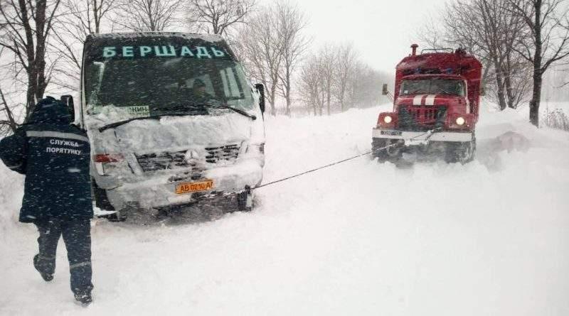 Ситуація на дорогах України контрольована, частково обмежено рух для роботи снігоочисної техніки (фото)