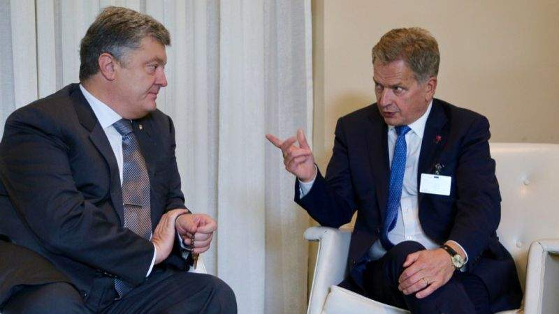 Президент провів телефонну розмову з Президентом Фінляндської Республіки