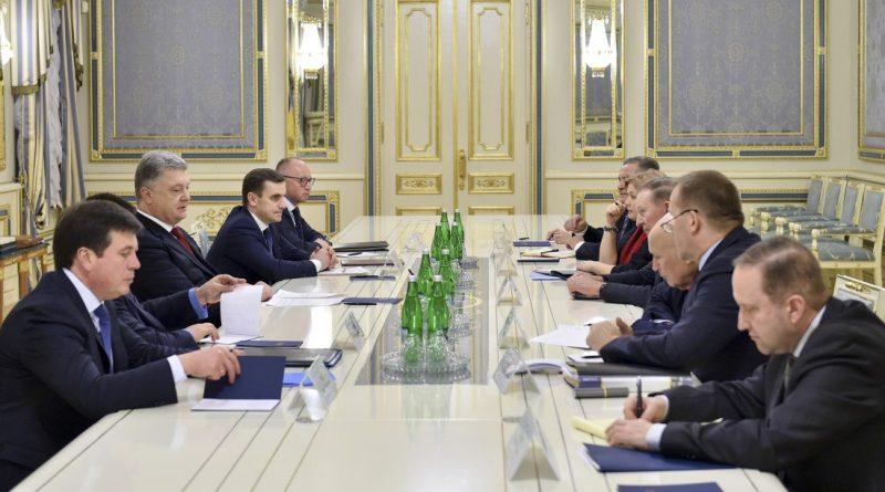 Президент провів зустріч із представниками України у Тристоронній контактній групі
