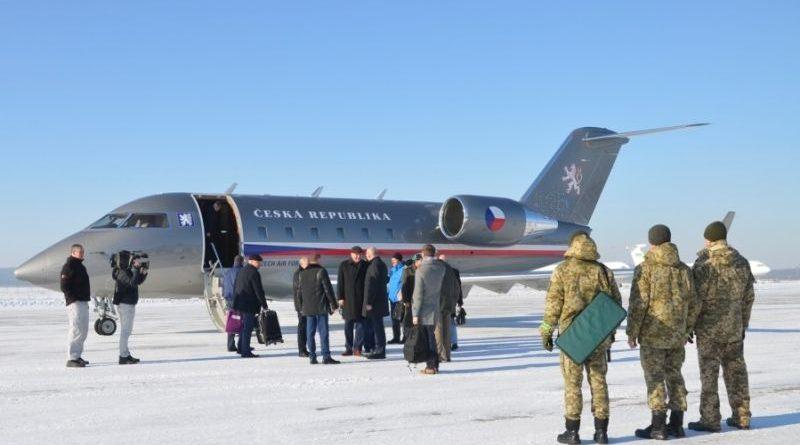 Учасники АТО відбули на медичну реабілітацію до Чеської Республіки (фото)