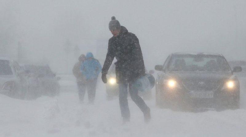 Увага! Попередження про ускладнення погодних умов в Україні 17-18 січня