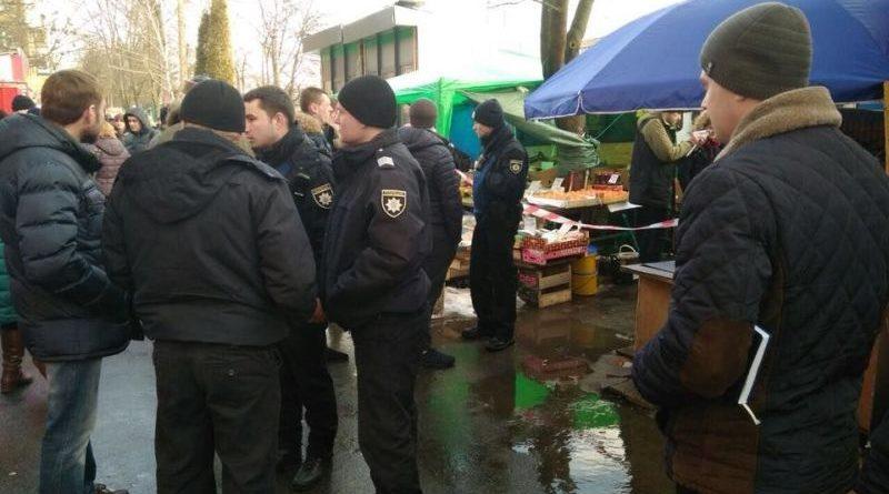 Поліція встановлює обставини стрілянини у Києві (фото)