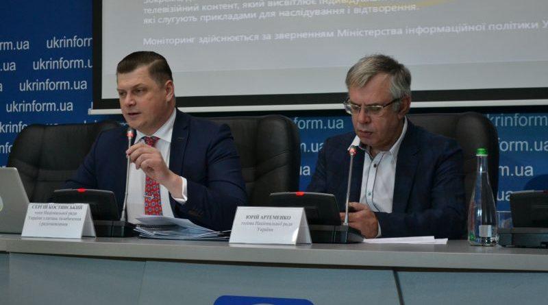 Як телеканали висвітлюють теми щодо збройної агресії на сході України та окупації Криму