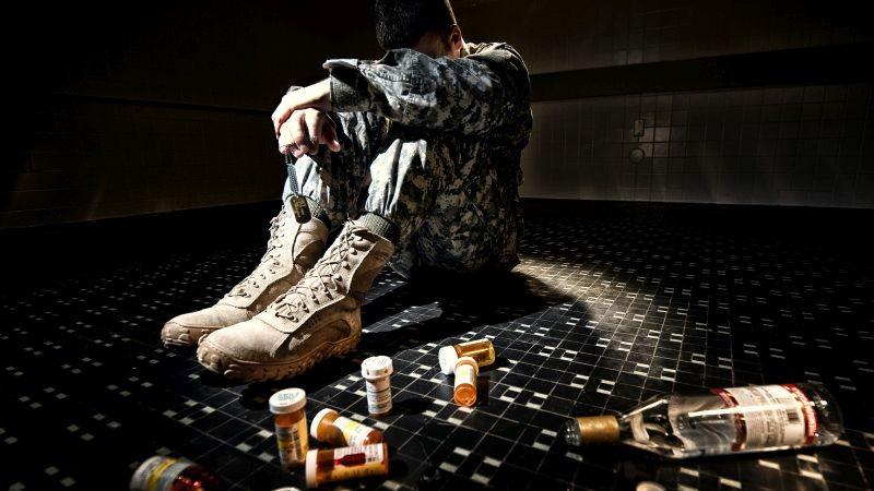 На войне алкоголь и смерть ходят рука об руку