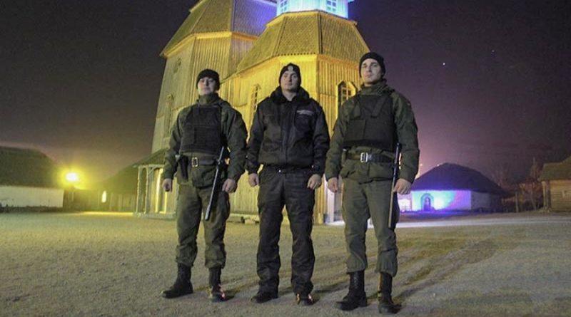 Запорізька Січ під надійною охороною Національної гвардії України