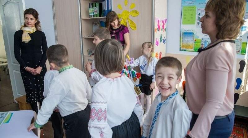 Черкащина долучилася до національного проекту Марини Порошенко по розвитку інклюзивної освіти (фото)