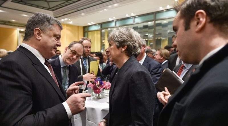 Президент України провів зустріч з Прем'єр-міністром Великої Британії
