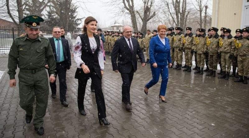У Міжнародний день рідної мови Марина Порошенко здійснила робочий візит до Волинської області (фото)